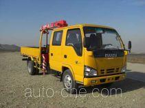 古河(UNIC)牌TGH5060JSQ型随车起重运输车