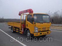 古河(UNIC)牌TGH5100JSQ型随车起重运输车