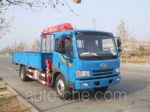 古河(UNIC)牌TGH5144JSQ型随车起重运输车