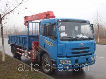 古河(UNIC)牌TGH5160JSQ型随车起重运输车