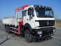 古河(UNIC)牌TGH5256JSQ型随车起重运输车