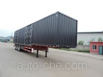 Xinhuachi THD9400XXY box body van trailer