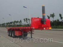 Xinhuachi THD9400ZZXP flatbed dump trailer