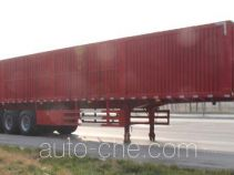 Xinhuachi box body van trailer