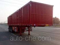 Xinhuachi THD9402XXY box body van trailer