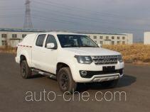 Huanghai THH5030XXYA box van truck