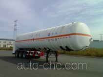 黄海牌THH9400GDYA型低温液体运输半挂车