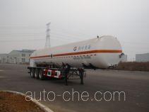 黄海牌THH9400GDYB型低温液体运输半挂车