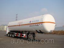 黄海牌THH9401GDYA型低温液体运输半挂车