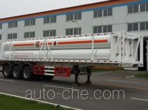 Huanghai THH9401GGY high pressure gas long cylinders transport trailer