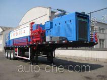 Workover fluid handling trailer