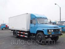 CIMC Tonghua THT5092XBW insulated box van truck