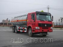CIMC Tonghua THT5254GJYZZ fuel tank truck