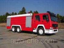 CIMC Tonghua THT5280GXFSG120 fire tank truck