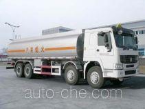 CIMC Tonghua THT5312GHYZZ chemical liquid tank truck