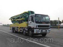 CIMC Tonghua THT5380THB concrete pump truck