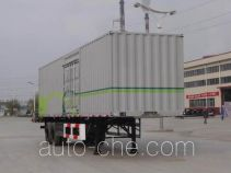 CIMC Tonghua THT9193XXY box body van trailer