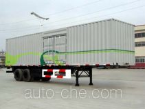 CIMC Tonghua THT9274XXY box body van trailer