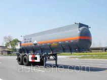 通华牌THT9342GHY型化工液体运输半挂车