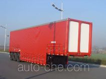 Tonghua beverage van trailer