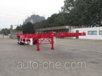 CIMC Tonghua THT9352TWY dangerous goods tank container skeletal trailer