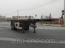 CIMC Tonghua THT9352TWYC dangerous goods tank container skeletal trailer