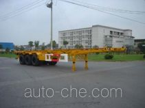 CIMC Tonghua THT9370TJZ02 container transport trailer