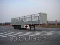 通华牌THT9391CLX型仓栅式运输半挂车