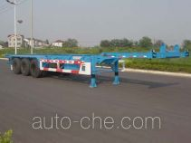 CIMC Tonghua THT9391TJZ container transport trailer