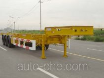 CIMC Tonghua THT9392TJZ container transport trailer