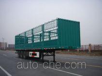 通华牌THT9400CLX型仓栅式运输半挂车