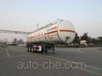 CIMC Tonghua THT9400GDGE toxic and infectious items tank trailer