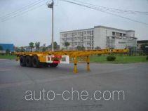 通华牌THT9400TJZ型集装箱运输半挂车