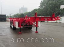 CIMC Tonghua THT9400TWY dangerous goods tank container skeletal trailer