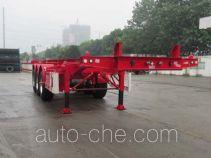 CIMC Tonghua THT9400TWY каркасный полуприцеп контейнеровоз для контейнеров-цистерн с опасным грузом