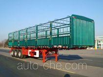 通华牌THT9401CCYYK01型仓栅式运输半挂车