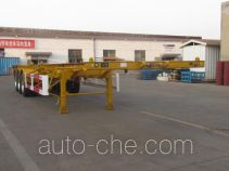 CIMC Tonghua THT9402TWYA dangerous goods tank container skeletal trailer
