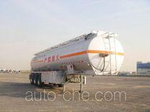 CIMC Tonghua THT9403GRYD flammable liquid aluminum tank trailer