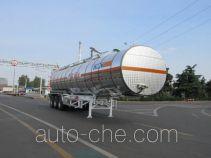 CIMC Tonghua THT9403GRYG flammable liquid aluminum tank trailer