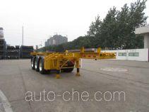 CIMC Tonghua THT9403TWY dangerous goods tank container skeletal trailer