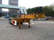 CIMC Tonghua THT9403TWYB dangerous goods tank container skeletal trailer