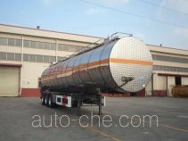 CIMC Tonghua THT9404GRYE flammable liquid tank trailer