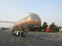 CIMC Tonghua THT9404GRYF flammable liquid aluminum tank trailer