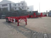 CIMC Tonghua THT9404TWY dangerous goods tank container skeletal trailer