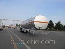 CIMC Tonghua THT9405GRYG flammable liquid aluminum tank trailer