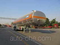 Tonghua aluminium oil tank trailer