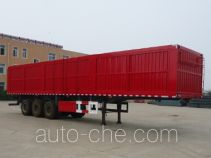 Jidong Julong TJD9400XXY box body van trailer