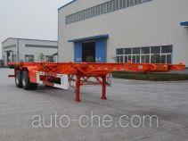 Tianjun Dejin TJV9350TJZE container transport trailer
