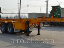 Tianjun Dejin TJV9350TWYG dangerous goods tank container skeletal trailer