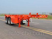 Tianjun Dejin TJV9351TJZE container transport trailer